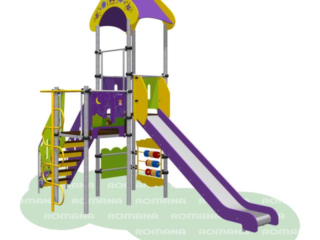 Детская площадка «Полянка» Romana 101.04.00-01